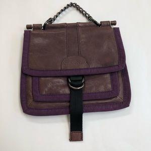 BCBG Maxazria Purple Leather Handbag